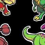 Dinosaur Stickerzzz YAY