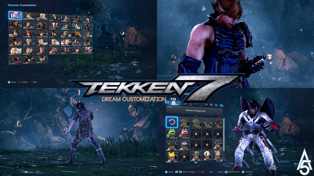 Tekken 7 Dream Customization Mod By A5tronomy On Deviantart