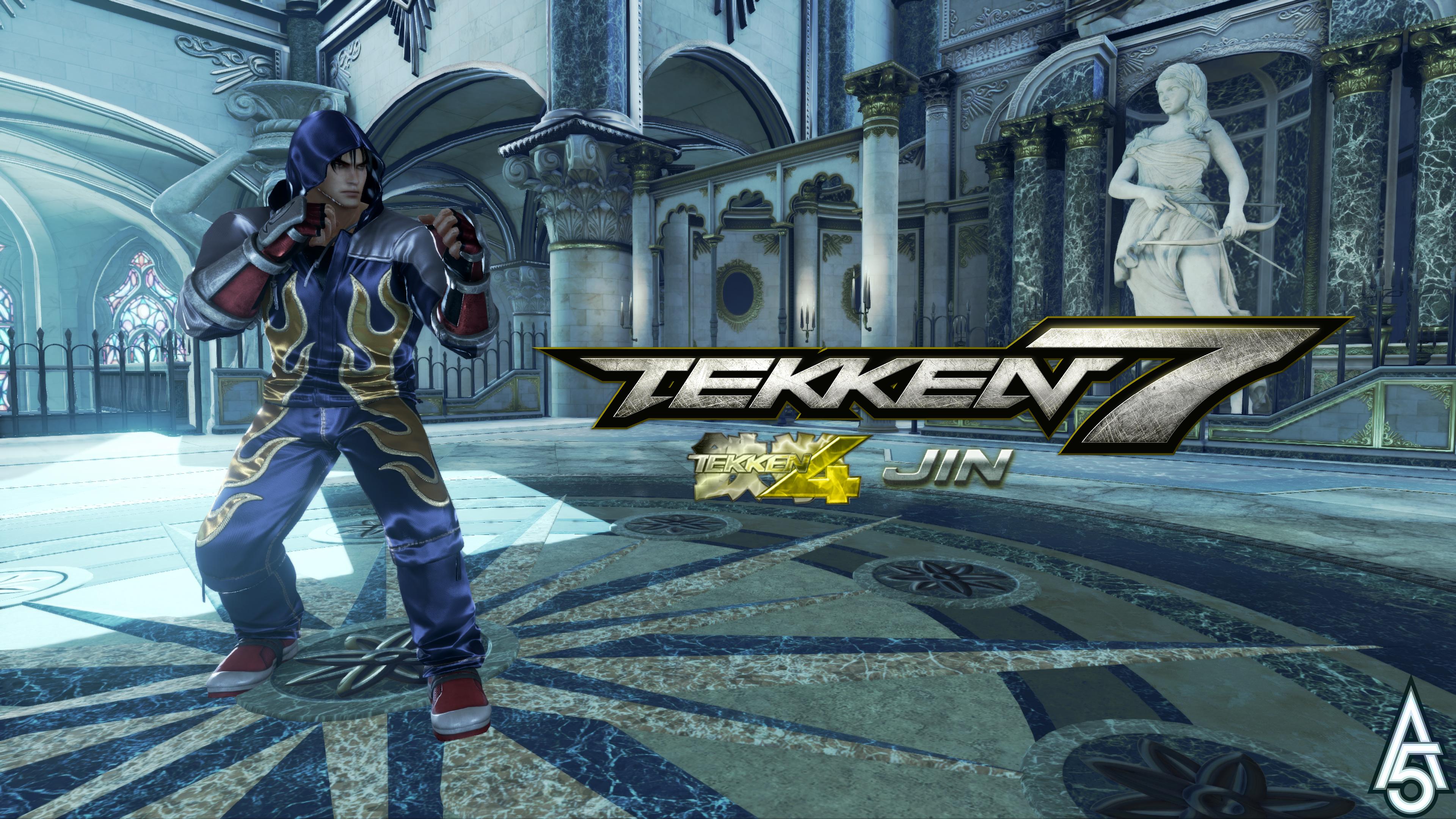 Tekken 7 Tekken 4 Jin Outfit Mod Outdated By A5tronomy On