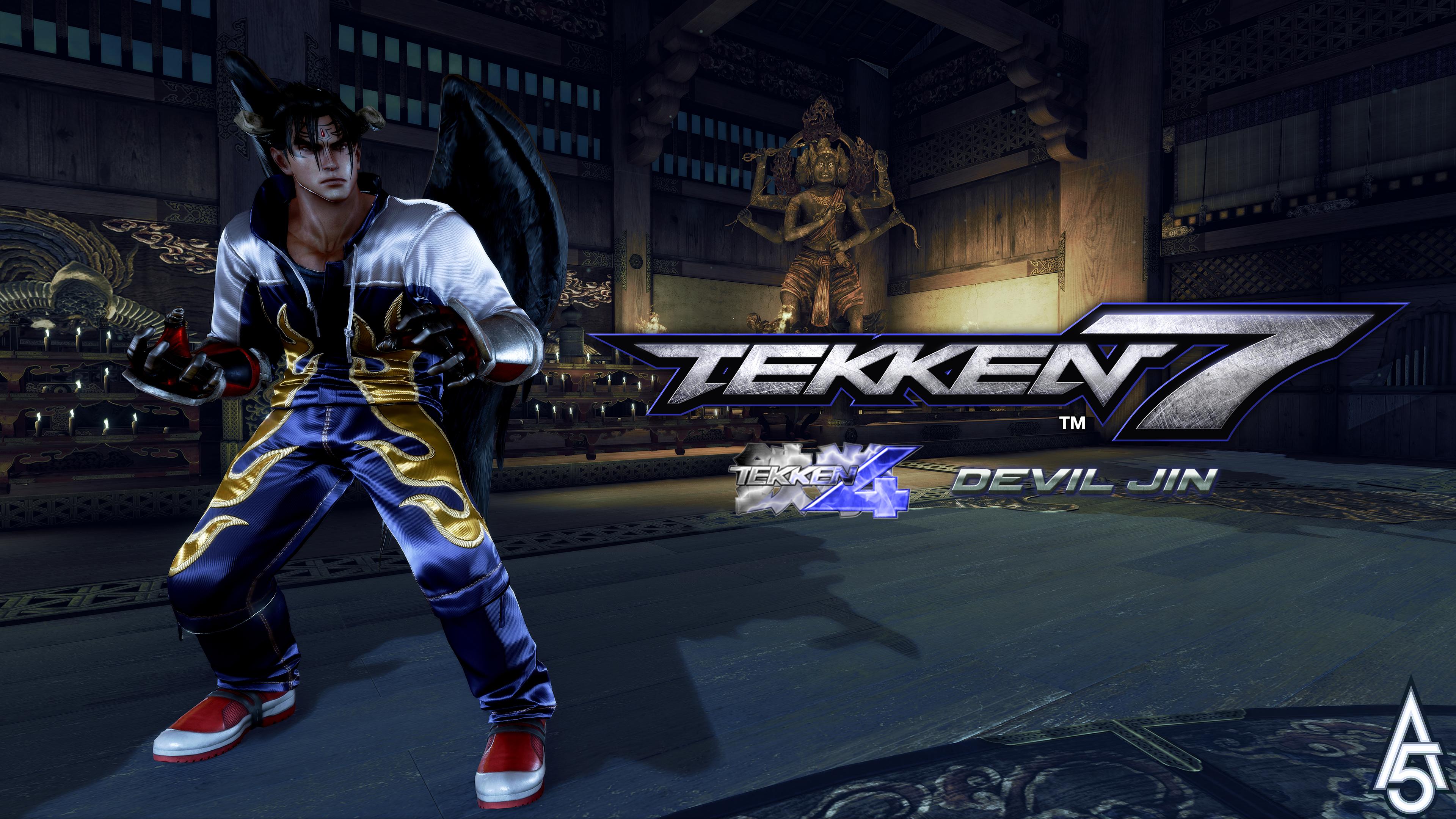 Tekken 7 Tekken 4 Devil Jin Hoodie Mod By A5tronomy On Deviantart