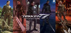 Tekken 7 - Negan Weapon Pack - Mod