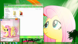 fluttershy windows 7 theme (old)