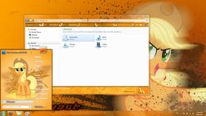 Applejack windows 7 theme