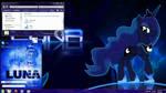 Princess Luna Windows 7 theme