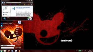 Deadmau5 windows 7 theme