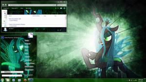 Queen Chrysalis Windows 7 theme