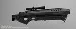 Vulcan rifle - flash - rotation by peterku