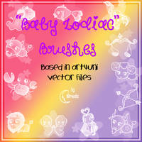 Baby Zodiac Brushes by Coby17