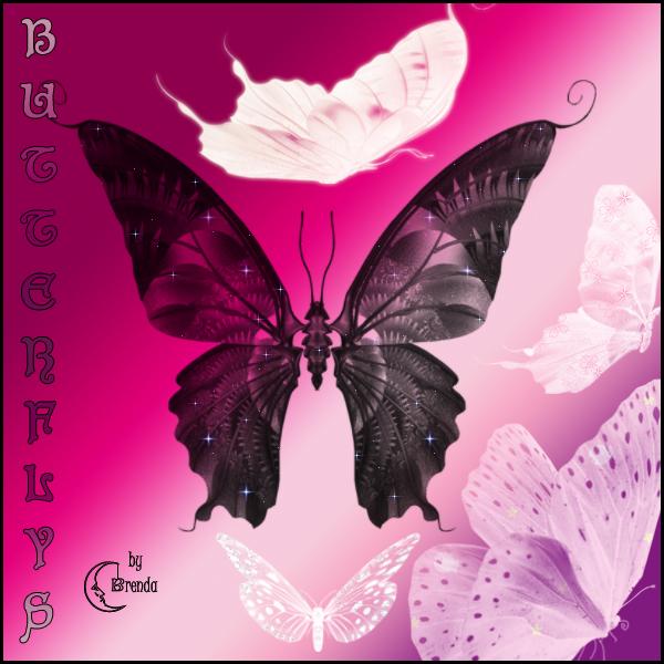Butterflys Photoshp Brushes