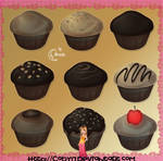 CupCakes Brushes PS