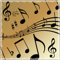 Musical Notes Brushes PS