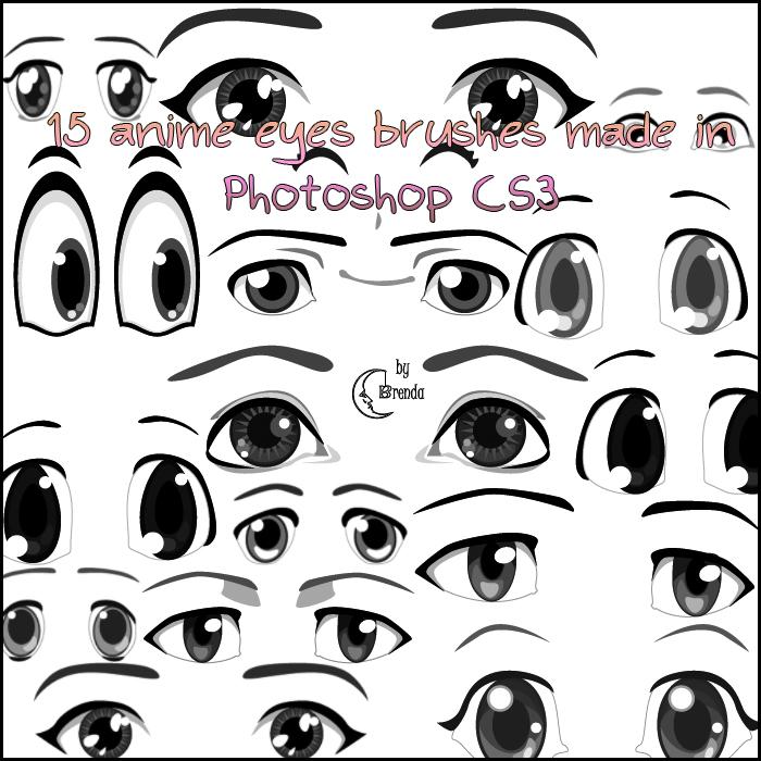 Anime Eyes Brushes PS