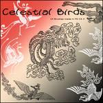 Celestial Birds Brushes