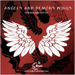 Angels And Demons Wings Brushe