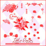 Little Roses Brushes