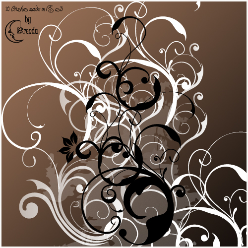 Swirls Brushes by Coby17