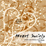 Heart Swirls Brushes