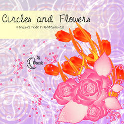 Circles and Flowers Brushes