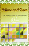 Yellow and Green Gradients