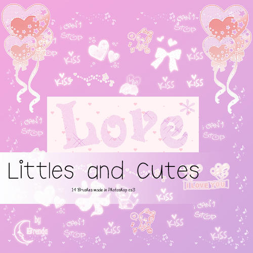Littles and Cute Brushes by Coby17