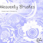 Heavenly Flowers Brushes