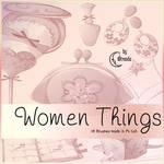 Women Things III Brushes