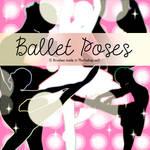 Ballet Poses Photoshop Brushes