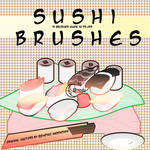 Sushi Brushes by Coby17