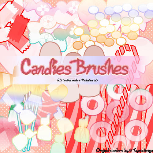 Candies Brushes by Coby17