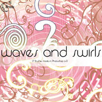 Waves and Swirls Brushes by Coby17