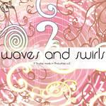 Waves and Swirls Brushes