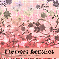 Flowers Brushes by Coby17