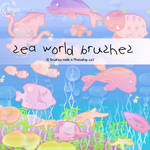 Sea world Brushes