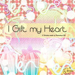 I Gift my Heart Brushes