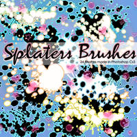 Splaters Brushes