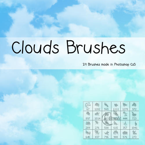Clouds Photoshop Brushes by Coby17 on DeviantArt