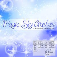 Magic Sky Brushes.