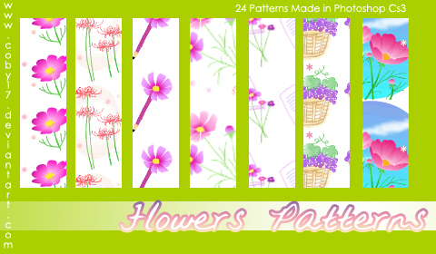 Flowers Photoshop Patterns
