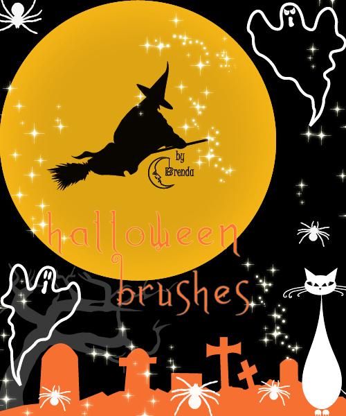Halloween Brush Pack