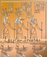 Egypcian Brushes by Coby17