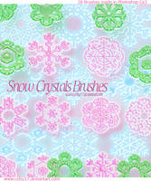 Snow Crystal Brushes