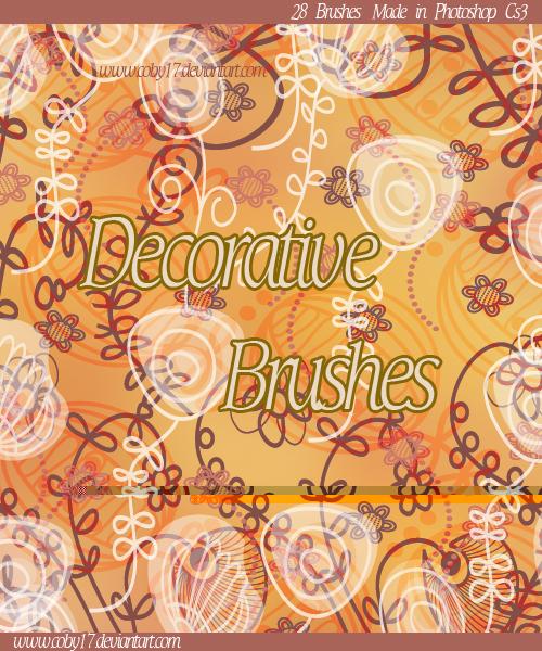 Decorative II Brushes