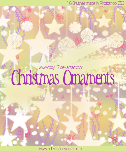Christmas Ornaments Brushes By Coby17 On DeviantArt