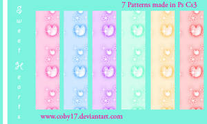 Sweet Hearts Patterns