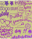 Cute Texts Brushes