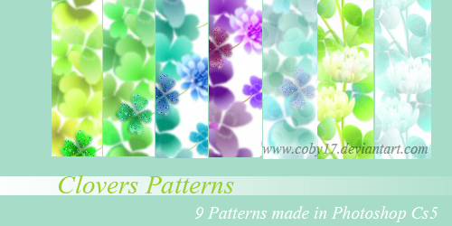 Clovers Patterns by Coby17