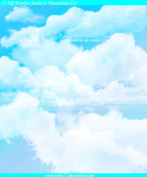 Clouds in the Sky HQ Brushes