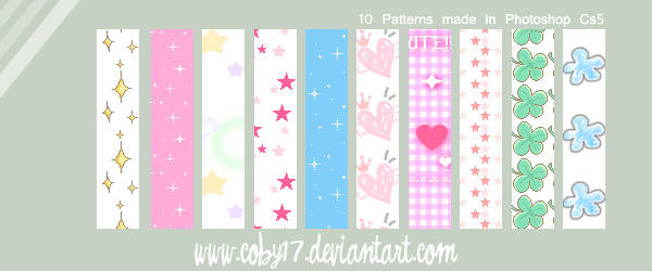 Cute Little Things Patterns by Coby17