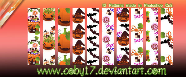 Halloween Patterns by Coby17