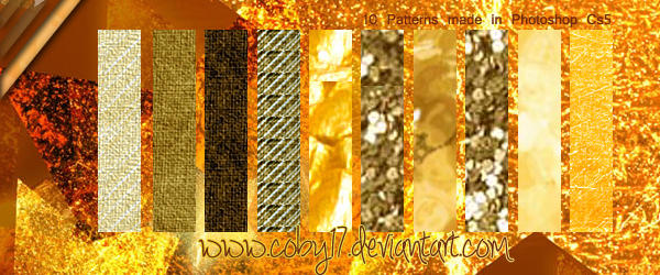 Brown and Golden Patterns by Coby17